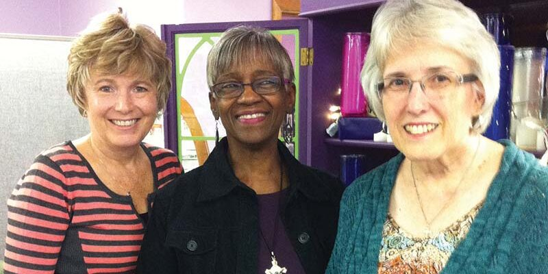 Sue Greenwood, Lois Brookhart, Cindy Kodis